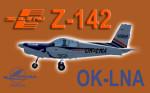 PWDT Zlín Z-142 OK-LNA (repaint) FSX