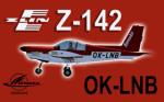 PWDT Zlín Z-142 OK-LNB (repaint) FSX