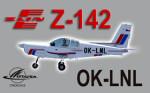 PWDT Zlín Z-142 OK-LNL (repaint) FSX