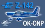 PWDT Zlín Z-142 OK-ONP (repaint) FSX