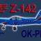 PWDT Zlín Z-142 OK-PNJ (repaint) FSX