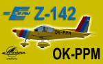 PWDT Zlín Z-142 OK-PPM (repaint) FSX / P3D