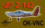 PWDT Zlín Z-142 OK-VNC (repaint) FSX / P3D