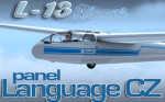 A1R Design Bureau - Blanik L-13 panel language CZ FSX
