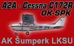 A2A Simulations C172 OK-SPK (repaint) FSX