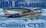 A2A Simulations C172 OM-TNB (repaint) FSX