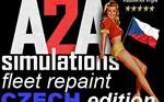 A2A Simulations C172 fleet czech edition (repaint) FSX