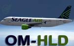 Wilco A320 Seagle Air OM-HLD (repaint)