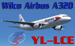 Wilco A320 Travel Service YL-LCE (repaint)