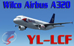 Wilco A320 Travel Service YL-LCF (repaint)