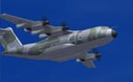 Wilco Airbus A400 Czech Air Force (fiktivní repaint)
