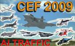 Czech Air Force 2009 AI Traffic FS2004 / FSX