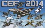 Czech Air Force 2014 AI Traffic FS2004 / FSX