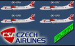 Flight 1 ATR 72-500 CSA Fleet  (repaint) FS2004