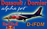 Dassault/Dornier AlphaJet RedBull D-IFDM (repaint) FS2004