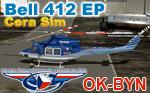 CeraSim Bell 412 EP OK-BYN (repaint) FSX
