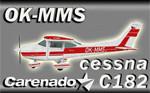 Carenado Cessna C182 OK-MMS (repaint) FS2004