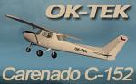 Carenado Cessna C152 OK-TEK (repaint) FSX
