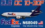CLS DC 10-30F Federal Expres N68049 FS2004 (repaint)