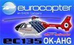 Heiko Richter EC135 Alfa Helicopter OK-AHG (repaint) FS2004