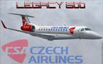 Project Opensky Embraer Legacy 600  CSA (fiktivní repaint) FS2004