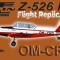 Flight Replicas Zlín Z-526F OM-CRO (repaint) FSX