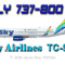 iFly B737-800 Sky Airlines TC-SKS (repaint) FS2004