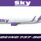 iFly B737-900 Sky Airlines TC-SKN (repaint) FS2004
