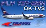 iFly B737-86N Travel Service OK-TVS (repaint) FS2004