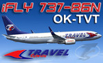 iFly B737-86N Travel Service OK-TVT (repaint) FS2004