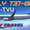 iFly B737-86N Travel Service OK-TVU (repaint) FS2004