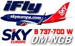 iFly B737-700W SkyEurope OM-NGB (repaint) FS2004