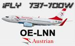 iFly B737-700W Austrian OE-LNN (repaint) FS2004