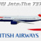iFly B737-800 British Airways G-OXLA (repaint) FS2004