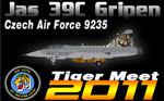 Alphasim/Jas 39C Gripen CEF 9235 (Tiger Meet 2011 repaint) FS2004 / FSX