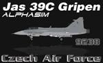 Alphasim/Jas 39C Gripen CEF 9238 (repaint+paintkit) FS2004 / FSX