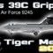 Alphasim/Jas 39C Gripen CEF 9245 (Tiger Meet 2010 repaint) FS2004