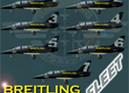 DB L-39C Albatros Breitling Team (fleet repaint) FS2004 / FSX