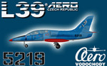 DB L-39C Albatros Czech Air Force 5219 (repaint) FS2004