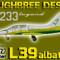 DB L-39C Albatros ČSLA 5233 (repaint) FS2004