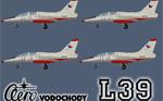 DB L-39C Albatros ČSLA volume 1. (fleet repaint) FS2004
