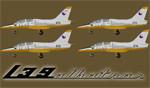 DB L-39C Albatros ČSLA volume 2. (fleet repaint) FS2004