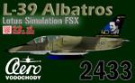 Lotus Simulation L-39ZA Albatros CEF 2433 (repaint) FSX