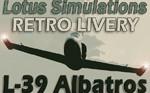 Lotus Simulations L-39 Retro Livery (repaint) FSX/FSX-SE/P3D