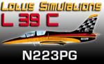 Lotus Simulations L-39C Albatros N223PG (repaint) FSX/FSX-SE/P3D