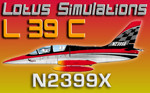 Lotus Simulations L-39C Albatros N2399X (repaint) FSX/FSX-SE/P3D