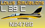 Lotus Simulations L-39C Albatros N247SG (repaint) FSX/FSX-SE/P3D