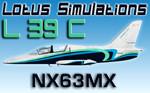 Lotus Simulations L-39C Albatros NX63MX (repaint) FSX/FSX-SE/P3D