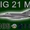 MIG-21MF CEF retro 9805 (repaint) FSX / P3D