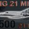 MIG-21MFN CEF retro 2500 (repaint) FSX / P3D